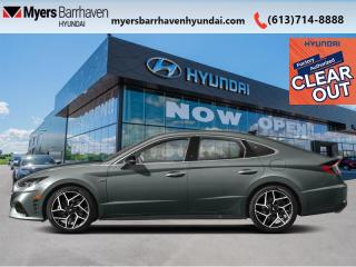 New 2021 Hyundai Sonata 2.5T N Line  - Sunroof -  Heated Seats - $246 B/W for sale in Nepean, ON