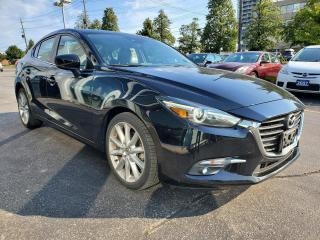 Used 2018 Mazda MAZDA3 GT AUTO SUNROOF 1 OWNER for sale in Scarborough, ON