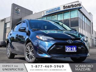 Used 2018 Toyota Corolla SUNROOF ALLOY WHEEL REAR CAMERA HEATED SEATS for sale in Scarborough, ON
