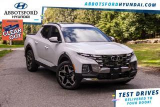 New 2022 Hyundai Santa Fe Cruz Ultimate  - Cooled Seats - $275 B/W for sale in Abbotsford, BC