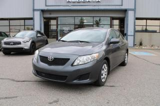 Used 2009 Toyota Corolla Base 4-Speed AT for sale in Calgary, AB