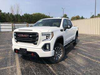 Used 2021 GMC Sierra 1500 AT4 DIESEL CREW CAB 4WD for sale in Cayuga, ON