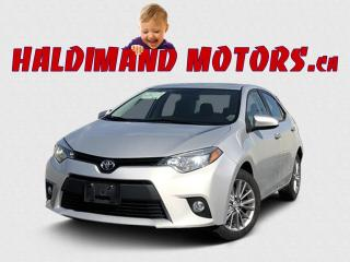 Used 2014 Toyota Corolla LE for sale in Cayuga, ON