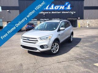 Used 2017 Ford Escape SE 4WD, 2.0L Ecoboost, Hitch, Power Seats, Heated Seats, Bluetooth, Reverse Camera & More! for sale in Guelph, ON