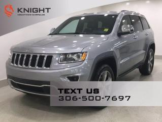 Used 2015 Jeep Grand Cherokee Limited | Leather | Sunroof | Navigation | for sale in Regina, SK