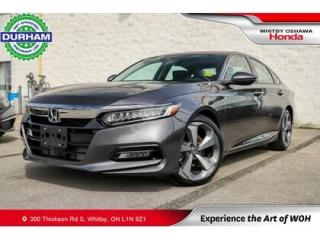Used 2020 Honda Accord TOURING NAVIGATION LEATHER SUNROOF BACKUP CAMERA for sale in Whitby, ON