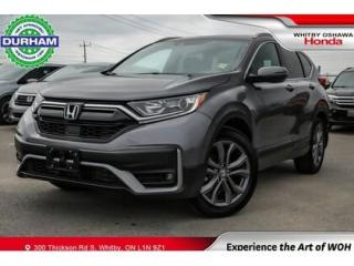 Used 2020 Honda CR-V Sport AWD Leatherette Sunroof Backup Camera for sale in Whitby, ON