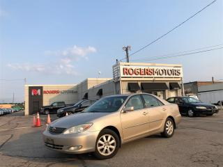 Used 2004 Toyota Camry XLE V6 - SUNROOF - LEATHER for sale in Oakville, ON