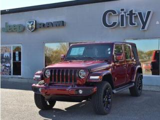 New 2021 Jeep Wrangler 2.0L turbo | Leather | Tow | Adv Safety #87 for sale in Medicine Hat, AB