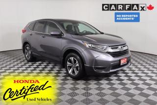 Used 2017 Honda CR-V LX NO ACCIDENTS | HEATED SEATS | ANDROID AUTO & APPLE CARPLAY for sale in Huntsville, ON