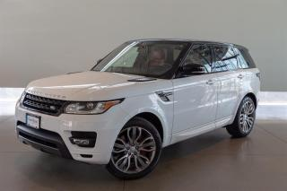 Used 2016 Land Rover Range Rover Sport V8 Supercharged Dynamic for sale in Langley City, BC