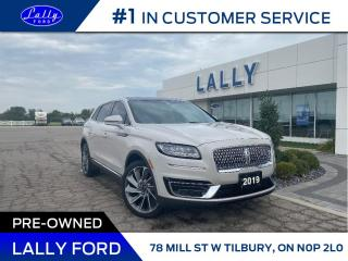 Used 2019 Lincoln Nautilus RESERVE for sale in Tilbury, ON