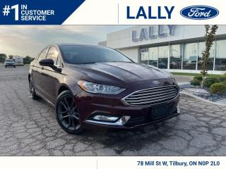 Used 2018 Ford Fusion SE, Moonroof, Nav, Leather!! for sale in Tilbury, ON