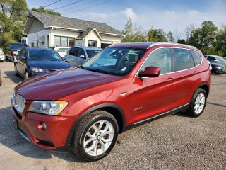 Used 2012 BMW X3 Navi, Reverse Cam, Panoramic 28i for sale in Peterborough, ON