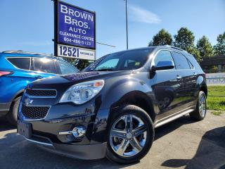 Used 2015 Chevrolet Equinox LTZ, LOCAL, 1 OWNER, NO ACCIDENTS for sale in Surrey, BC