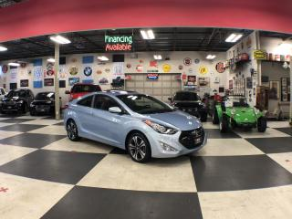 Used 2013 Hyundai Elantra Coupe SE C0UPE AUT0 LEATHER SUNROOF A/C CRUISE H/SEATS for sale in North York, ON