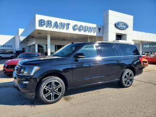New 2021 Ford Expedition Limited MAX for sale in Brantford, ON