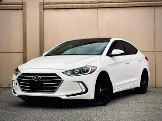 Used 2017 Hyundai Elantra GLS SUNROOF ALLOY ANDROID CERTIFIED $16499 for sale in Brampton, ON