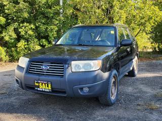 Used 2006 Subaru Forester 2.5X AWD for sale in Oshawa, ON