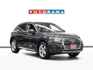 Used 2018 Audi Q5 Technik Quattro Nav Leather PanoRoof Bcam for sale in Toronto, ON