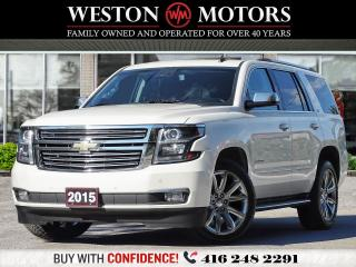 Used 2015 Chevrolet Tahoe LTZ*SUNROOF*4X4*LEATHER*NAVI*7PASS* for sale in Toronto, ON