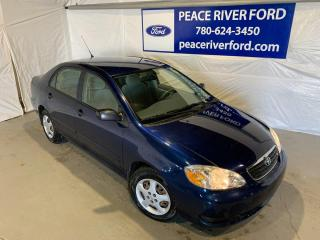 Used 2007 Toyota Corolla CE for sale in Peace River, AB