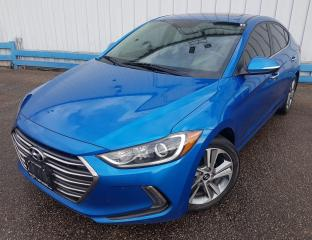 Used 2017 Hyundai Elantra Limited *LEATHER-SUNROOF-NAVIGATION* for sale in Kitchener, ON
