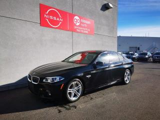 Used 2016 BMW 5 Series M SPORT/XDRIVE/V8/16,000KM ONLY/CPO WARRANTY REMAINING!/NIGHT VISION for sale in Edmonton, AB