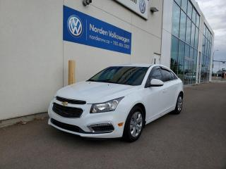 Used 2016 Chevrolet Cruze Limited LIMITED LT AUTO | BACKUP CAM | BLUETOOTH for sale in Edmonton, AB