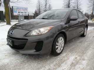 """Used 2012 Mazda MAZDA3 """"Boss is MAD"""" certified + FREE oil change for sale in Ajax, ON"""