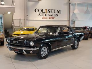 Used 1966 Ford Mustang CONVERTIBLE **NEW TOP-MINT INTERIOR-RUNS AMAZING** for sale in Toronto, ON