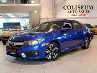 Used 2017 Honda Civic EX-T-AUTOMATIC-SUNROOF-HONDA SENSING-54KM for sale in Toronto, ON