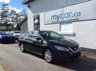 Used 2018 Nissan Sentra 1.8 SV SUNROOF. ALLOYS. NAV. HEATED SEATS. BACKUP CAM. for sale in Richmond, ON