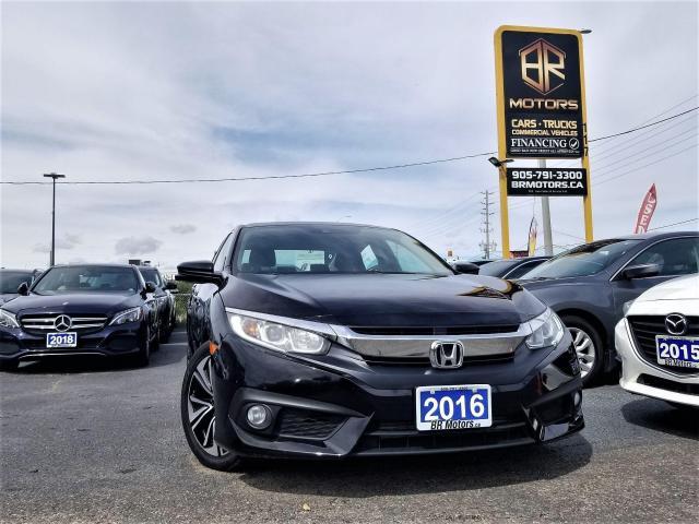 2016 Honda Civic Sport |Sun Roof | EX-T | Hseats |  Certified