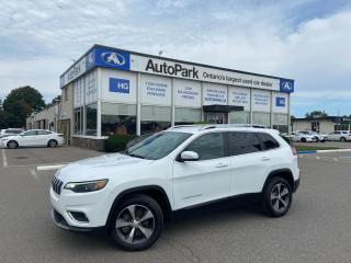 Used 2019 Jeep Cherokee Limited REAR CAMERA   HEATED SEATS   4X4   LEATHER SEATS   for sale in Brampton, ON