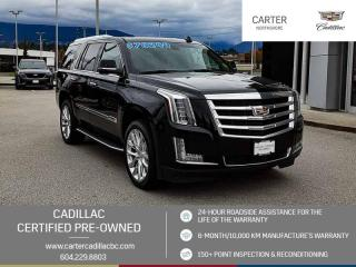 Used 2018 Cadillac Escalade Premium Luxury NAVIGATION - MOONROOF - ENTERTAINMENT PKG for sale in North Vancouver, BC
