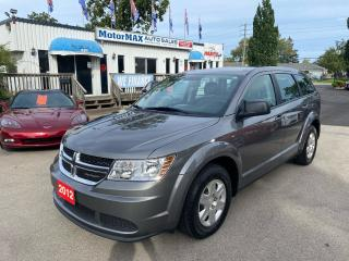 Used 2012 Dodge Journey Canada Value Pkg-ONE OWNER-ONLY 32,000KM for sale in Stoney Creek, ON