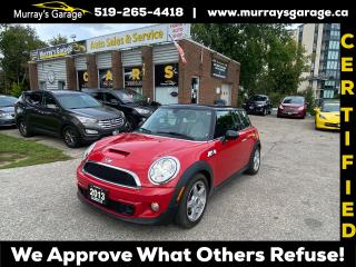 Used 2013 MINI Cooper S for sale in Guelph, ON