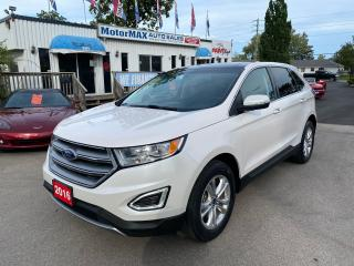 Used 2016 Ford Edge SEL-AWD-NAVI-ONE OWNER for sale in Stoney Creek, ON