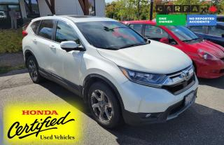 Used 2017 Honda CR-V EX 1 OWNER - NO ACCIDENT | AWD | SUNROOF | HEATED SEATS | APPLE CARPLAY & ANDROID AUTO for sale in Huntsville, ON