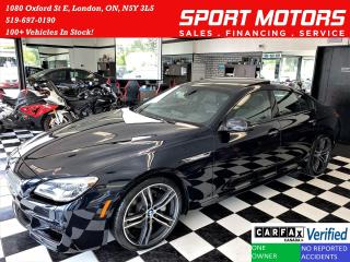 Used 2019 BMW 6 Series 650i xDrive M PKG 4.4L V8+MassageSeats+CLEANCARFAX for sale in London, ON