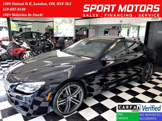 2019 BMW 6 Series 650i xDrive M PKG 4.4L V8+MassageSeats+CLEANCARFAX