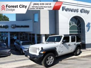 Used 2020 Jeep Wrangler UNLIMITED SPORT for sale in London, ON