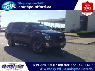 Used 2019 Cadillac Escalade Premium Luxury NAV|HTD SEATS|MOONROOF|7 PASSENGER for sale in Leamington, ON