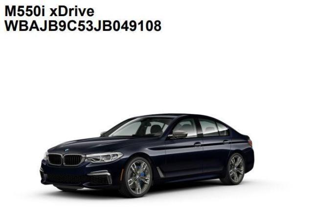 2018 BMW 5 Series M550i xDrive - 2.99% FINANCING