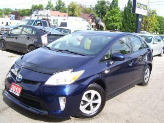 Used 2013 Toyota Prius One Owner,Hybrid,Certified,Backup Camera,Bluetooth for sale in Kitchener, ON