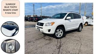 Used 2012 Toyota RAV4 AUTO SUNROOF BLUE TOOTH SAFETY NO ACCIDENT for sale in Oakville, ON