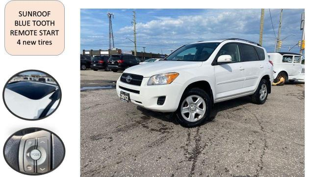 2012 Toyota RAV4 AUTO SUNROOF BLUE TOOTH SAFETY NO ACCIDENT