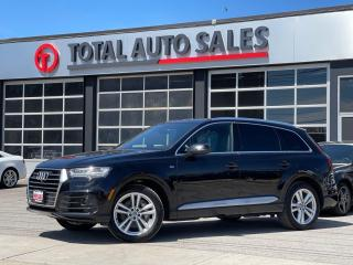 Used 2017 Audi Q7 TECHNIK   S-LINE   NAVI   PANO   HEAD UP for sale in North York, ON