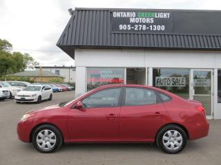 Used 2009 Hyundai Elantra SUPER LOW KM, 1 OWNER, CLEAN CARFAX,HEATED SEATS for sale in Mississauga, ON